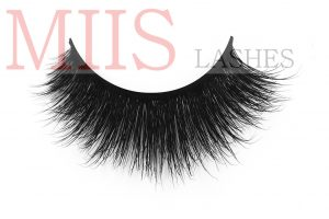 Flat Mink Fur False Eyelashes